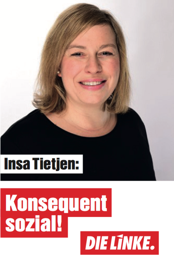 Insa Tietjen, Lehrerin, Eimsbüttel-West, DIE LINKE.Hamburg, Bürgerschaftswahl 2020, Download-PDF
